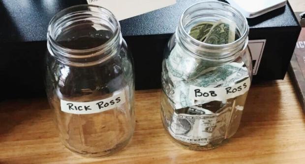 Rick Ross Vs. Bob Ross